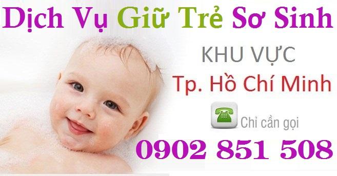 Dịch vụ chăm sóc trẻ em sơ sinh quận 1